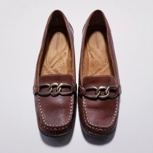 Naturalizer Brown Leather Loafer sz-8.5